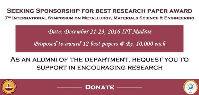 Best Research Paper Award in ISRS 2016