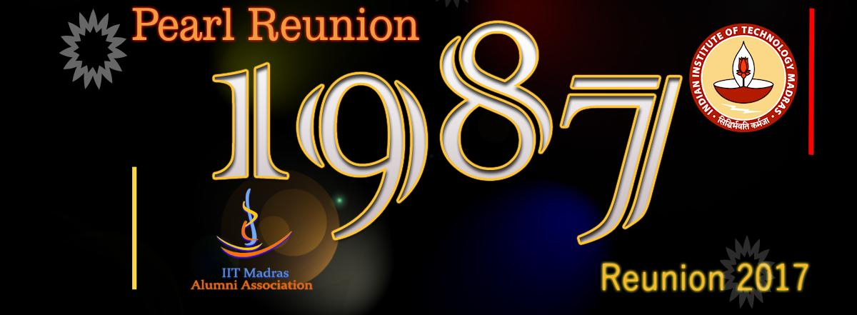 1987 Batch Reunion Fund