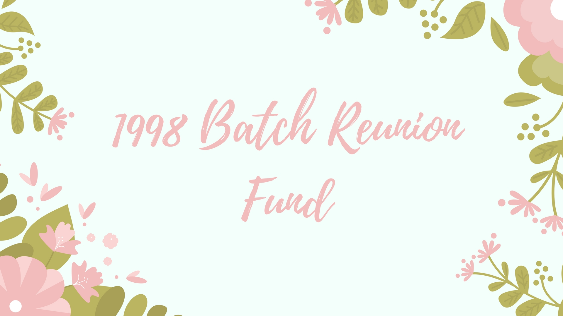 1998 Batch China Reunion Fund