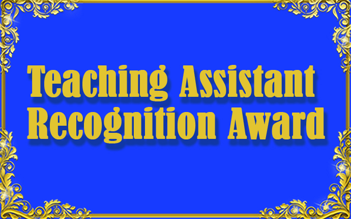 Teaching Assistant Recognition Award
