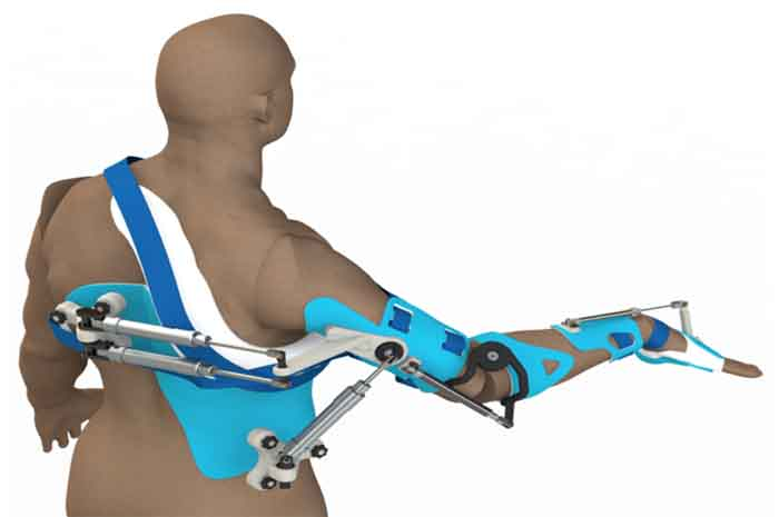 Arm Rehabilitation Robot for Shoulder and Elbow Training
