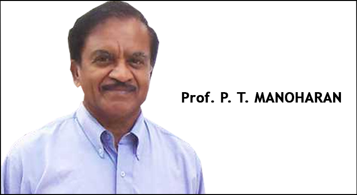 Chair Professorship in Chemistry Department - Prof. P. T. Manoharan