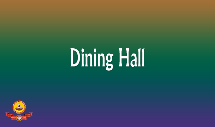 Dining Hall in IC&SR Building