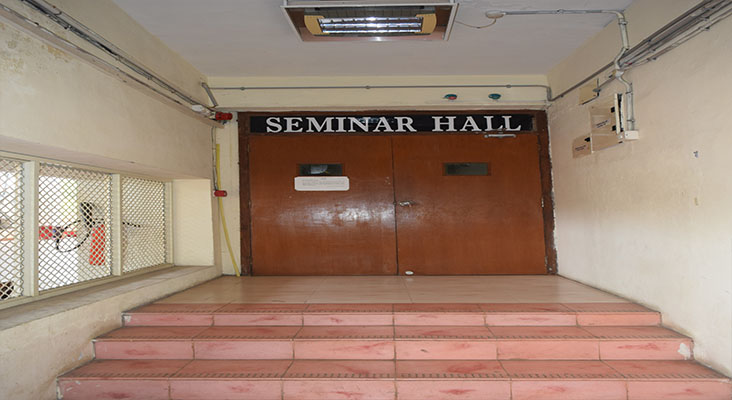 Seminar Hall - 202 in Department of Ocean Engineering