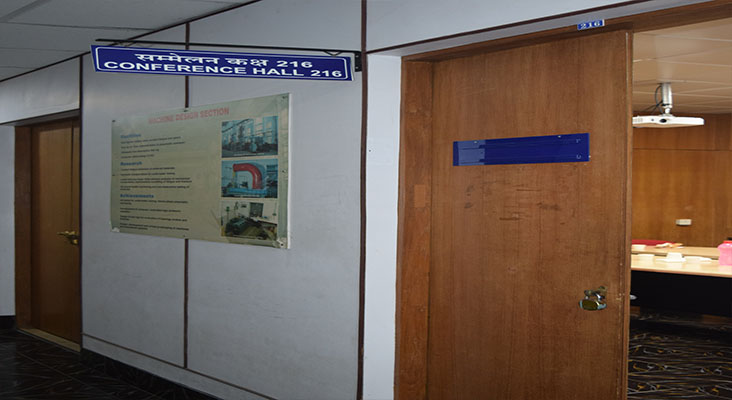 Conference Hall No. 216 in Department of Mechanical Engineering