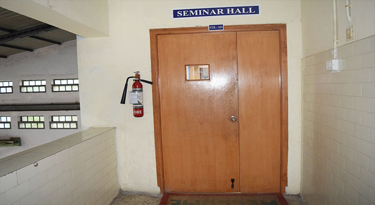 Seminar Hall - 301 in Department of Structural Engineering