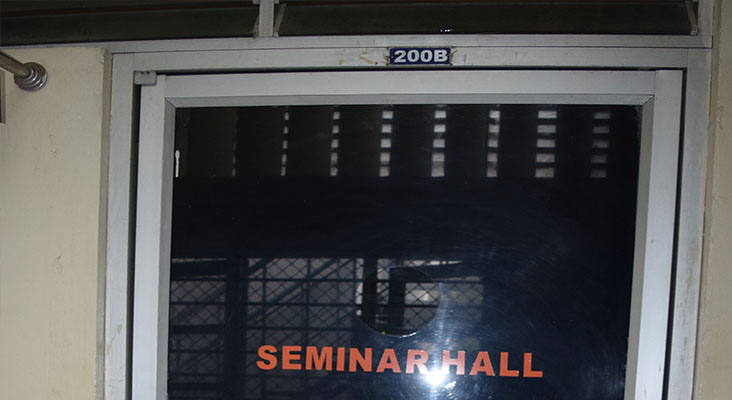 Seminar Hall - 200B in Department of Mechanical Engineering