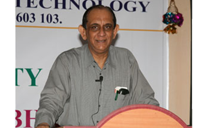 Prof. K.A. Padmanabhan Institute Chair Endowment - IIT Madras